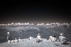 Domenica in Vetta,  Monte Pavione (BL) (Mauro Hoshi) Tags: infrarosso vettefeltrine pavione 2016 infrared ir montagna dolomiti cima vetta