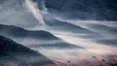 Smoke in the Valley (Duncan Fawkes) Tags: australia gibraltarrangenationalpark nationalparks northerntablelands protectedareasofnewsouthwales terrestrialprotectedareas