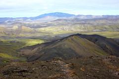 Hekla (Freyja H.) Tags: iceland nature outdoor fjallabak tindfjll hekla landscape geology volcano lava hungurfit fjallabaksyra stratovolcano gatesofhell mountain hill foothill 1491