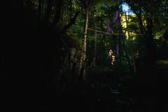 Highline Wolfsschlucht #8 (Michael-Herrmann) Tags: nikon d7100 highline slackline high line yongnuo trees black forest blackforest todtnau wolfsschlucht water river rock rocks felsen wasser schlucht sommer summer holi powder color pulver