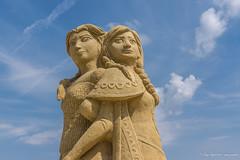 010 - Burgas - Sand Sculptures Festival 2016 - 24.08.16-LR (JrgS13) Tags: bulgarien filmhelden outdoor reisen sand sandscuplturefestivals sandskulpturenfestival urlaub burgas