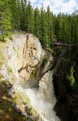 Sunwapta Falls (Stefan Jrgensen) Tags: sunwaptafalls sunwaptariver sunwapta river falls canada alberta jaspernationalpark icefieldsparkway 2013 sony dslra700 a700