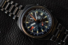 DSC_1514 (peterrobinson5) Tags: tag heuer chronograph 510501 lemania 5100 pvd coated chrono