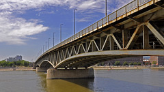 Petfi hd / Petfi bridge in Budapest (WA Photo) Tags: nikon nikond5000 sigma sigma1770 wernerantal budapest bridge hungary danube duna water