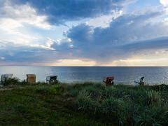 Strandkrbe bei Fehmarn auf Explore (jthoeny) Tags: fehmarn schleswigholstein deutschland de strand strandkorb wetter meer wolken