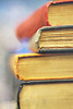 """So many books, so little time."" (ggcphoto) Tags: texture 50mm oldbooks frankzappa stackedbooks somanybookssolittletime sonyalpha gettyimagesirelandq12012 yahoo:yourpictures=yourbestphotoof2012"