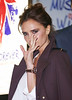 Victoria Beckham VIVA Forever Spice Girls the Musical held at the Piccadilly Theatre