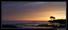 LE PONT DU DIABLE ENCORE (Marc Laboutique) Tags: ocean sunset sea mer france saint landscape du le maritime pont palais sur paysage crepuscule charente diable atlantique carrelet