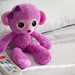 purple monkey (nosha) Tags: hospital monkey bed doll purple