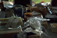 """""""te tengo en el saco"""" (monicajc) Tags: en el mà material te saco tengo bolsos sacs sacos reciclado cojines coixins reciclat"""