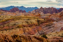 Incredible landscape at the Valley of Fire