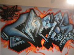 CHRIS (benka.one) Tags: chris ice water work fire graffiti lava trabajo agua interior room christian crew piece emt hielo explosive pieza explosivo benka eemete benkone