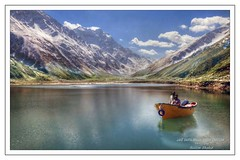 Boat on Saifulmaluk lake Naran pakistan (saleem shahid) Tags: