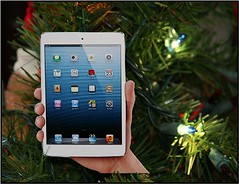 DIY iPad Mini Christmas Ornament (Photo Giddy) Tags: christmas tree art apple design diy mac crafts ornaments stevejobs iphone timcook ipadmini iphone5ipad