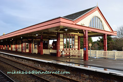 aviemore train station dec 2012 (mikek666) Tags: train bahnhof trainstation trem treno trein vlak estacindetren trenistasyonu stazioneferroviaria  trengeltokira