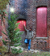 Merry Christmas from atr (among the ruin) Tags: holiday merrychristmas petersburgvirginia abandonedtobaccofactory canont3i amongtheruinphotography