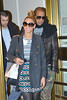 Beyonce and Jay-Z are seen leaving Bergdorf Goodman after some Christmas Eve shopping New York City