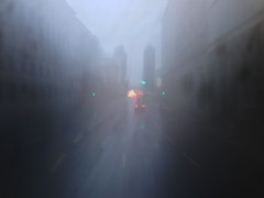 Christmas in Berlin. (Sascha Unger) Tags: christmas mist bus berlin rain weather mobile fog germany weihnachten nebel phone traffic centre center potsdamerplatz sascha mitte verkehr ampel regen wetter leipzigerstrasse iphone unger leipzigerplatz iphonography iphoneography saschaunger