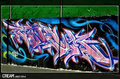 Pieza para celebrar los 19 (MR. BURNHUMANZ) Tags: espaa classic graffiti spain huelva cream andalucia crew graff wildstyle abdt abasedetaker