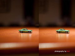 50_1.4vs50L (Photography By Blair) Tags: 50mmf14 testshot comparision matchboxcar 50mmf12l canon5dmkii