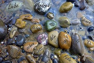 Steinhüpfen für Andrea