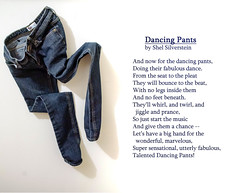 The Dancing Pants (Maggggie) Tags: poem jeans shelsilverstein odc dancingpants