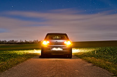 VW Golf at Night (<DXR>) Tags: light 6 rabbit vw germany golf volkswagen photography lights nikon long exposure mark 14 tripod engineering moonlight brake nikkor vi available turbocharger tsi 2470 28g worldcars d7000