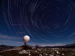E.T. Phone Home (jpmiss) Tags: night olympus côtedazur fullmoon nuit meteor startrails startrail circumpolar caussols earthandspace 714mm circumpolaire cerga jpmiss e620 hautmontet fenchriviera starstax polarie