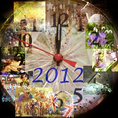 Goodbye to 2012 (Lemon~art) Tags: christmas autumn winter summer london clock wet bluebells fruit walking cycling leaf spring swan photos jubilee flag cygnet crocus deer thrift cablecar ladybird months 12 goodbye olympics 2012 paralympics