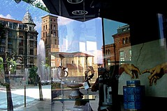 LEÓN.- Reflejo irrepetible sobre escaparate de Scap. (2006) (Bernardo del Palacio) Tags: canada color reflection colors contraluz ego moments searchthebest magic leon reflejo excellent sensational reflexions distillery magicmoments breathtaking reflejos amazingcolors reflects autunm dinnerandamovie blueribbonwinner reflejada digitalcameraclub supershot 5photosaday addictedtoflickr outstandingshots thursdaywalk kartpostal golddragon abigfave totalawesomeness platinumphoto anawesomeshot colorphotoaward impressedbeauty flickrplatinum superbmasterpiece digitalphotoart diamondclassphotographer amazingamateur theunforgettablepictures flowerwatcher brillianteyejewel adoublefave colourartaward platinumheartaward betterthangood goldstaraward internationalgeographic academyofphotographyparadiso bestminimalshot explorewinnersoftheworld alwayscomment5 qualitypixels inspiredbyhim sharingart awesomeblossoms goldenheartaward 100commentgroup colorfullaward vosplusbellesphotos ubej inspiringgallery elshowdelmacro berpala dragondaggerphot dragondaggerphoto dragondaggerawards flickrsmasterpieces solidaritywithcancersolidaridadconelcáncer