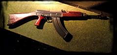 CZ858 3 (TravelersOfOnePercent) Tags: detail town gun details 45 weapon automatic guns cz shotgun ammo makro machinegun weapons shootingrange firing firearm firearms zp semiautomatic troppau 858