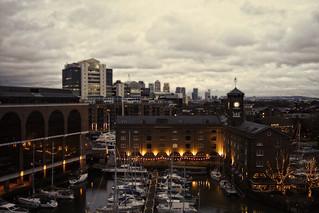 Ivory House, St Katharine Dock's.