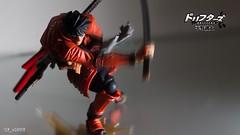 Shimazu Toyohisa - Drifters - Revoltech (Kaiyodo) (sir_winger) Tags: toys action figure samurai kaiyodo shimazu revoltech toyohisa