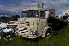 HOR02 (JIM123FLICKR) Tags: old newzealand abandoned graveyard truck rusty lorry scrapyard scrap derelict smashpalace horopitomotors