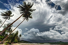 Tropical Storm Approaching (hpd-fotografy) Tags: travel light sea sky panorama favorite seascape storm color green art beach nature water clouds landscape thailand island grey sand nikon flickr day outdoor fast wideangle best haunted adventure master elite thunderstorm recreation nikkor relaxation ultrawide hdr d800 excellence masterclass fav100 stunningskies 1635mmf4