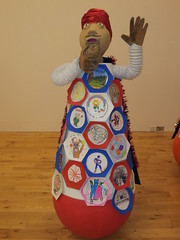 RedGenie@ArtDepot (geraintedwards) Tags: sculpture weebles genies tellingstories artinschools