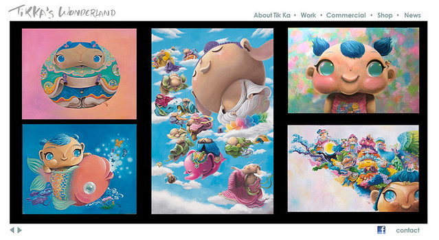 香港畫家 迪嘉 天馬行空的仙鄉靈境