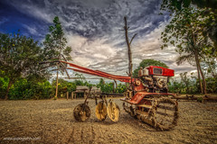 The Hand Tractor II HDR By: Pipoyjohn (Pipoyjohn) Tags: photography philippines hdr pinoy bukid handtractor pipoyjohn