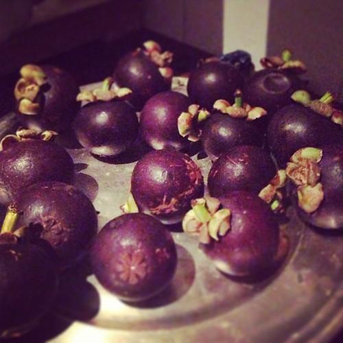 Mangoustans #zaire #rdc #fruits #africa
