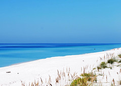 white sand, blue water and sky (wkepkake1) Tags: ocean sea beach gulfofmexico florida whitesand willet navarrebeach emeraldcoast turquiosewater