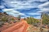 Some Days Are Just Perfect ... (Aspenbreeze) Tags: sky nature clouds rural outdoors colorado country dirtroad bushes countryroad sunnyday reddirt rualroad aspenbreeze topphotospots tpslandscape gpsetest bevzuerlein