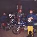 Tico, James e Roy partindo de São Bento do Sul para a Transamazônica