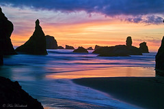 Wild Sky F4KV3259 (Ken Hornbrook - inspirationalphotoimages.com) Tags: ocean sunset oregon bandonbeach thepowerofnow