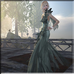 enthralling... (Renee_ Parkes) Tags: azul renee secondlife dreamworld ccd diva belleza jamman slfashion slgown reneeparkes dieselworlks