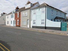 seaside colours (dawn.v) Tags: poole dorset uk england july summer 2016 lumixlx100 terracedhouses seaside ballardroad seasidecolours
