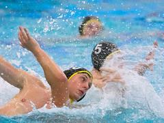 28190943 (roel.ubels) Tags: jong oranje nederland holland duitsland deutschland sport topsport waterpolo 2016 oefenwedstrijd alphen aan de rijn aquarijn