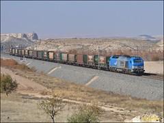 Tramesa por El Romeral (FurbyTrenes) Tags: tramesa steel comsa 335001 mercancías privadas
