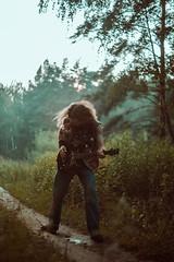IMG_5162 (rodinaat) Tags: longhair longhairman longhairedman longhaired beard bearded metal metalhead powermetal trashmetal guitar musican guitarplayer brutal forest summer sun