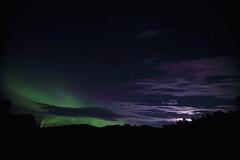 Moon, stars and Aurora (gallserud) Tags: aurora norrsken sverige