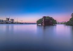 abandoned (bart.kwasnicki) Tags: sydney ship wreck abandoned australia sunset